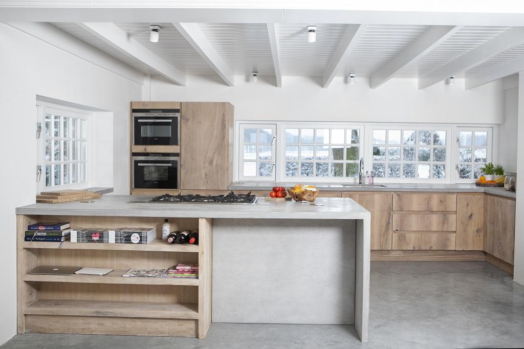 Drie Zones Keuken : Keuken makkinga gerrit met hout